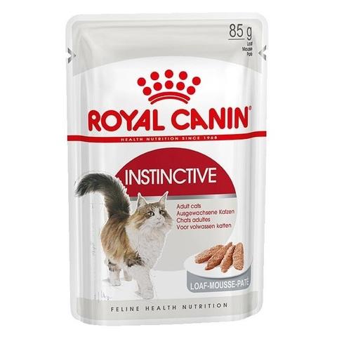 Корм для кошек Royal Canin Instinctive мясное ассорти (паштет) 85 гр