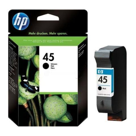Оригинальный картридж струйный HP 51645A 45 черный