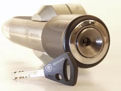 Блокиратор рулевого вала для SKODA OCTAVIA /2013-/ ЭлУР - Гарант Блок Люкс 633.E