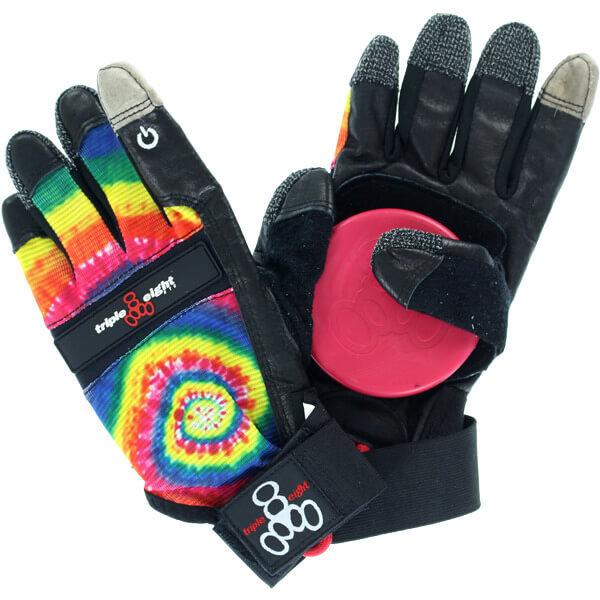 слайд перчатки для лонгборда triple 8