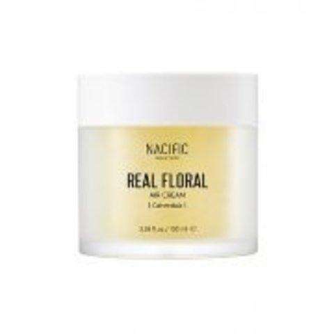NACIFIC Real Floral Air Cream Calendula Лёгкий гель-крем с лепестками календулы