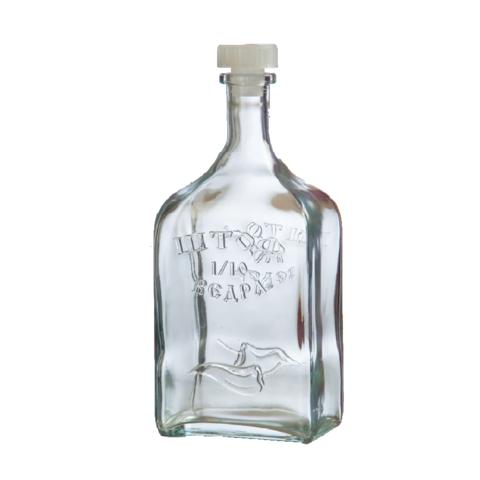 Бутылка стеклянная 1.2 л «Штоф»