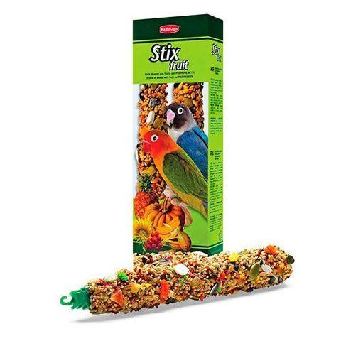 Padovan Лакомства STIX FRUIT палочки фруктовые д/средних попугаев (100г)