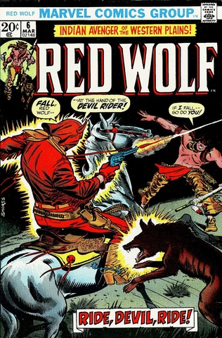 Red Wolf #6 (1972)