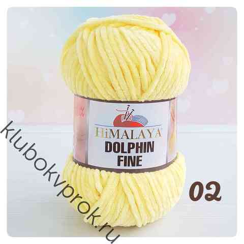 HIMALAYA DOLPHIN FINE 02, Светлый желтый