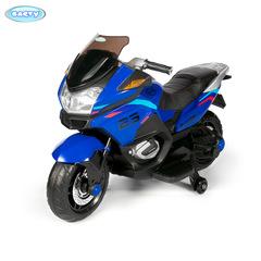 Детский электромотоцикл Barty XMX609, модель 2021год синий