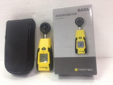 Анемометр скорости воздуха BA 06