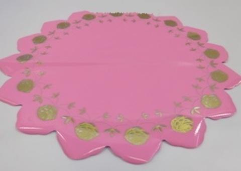 Салфетка Розочка (d=60см, упак.= 50 шт.) Цвет: розовый