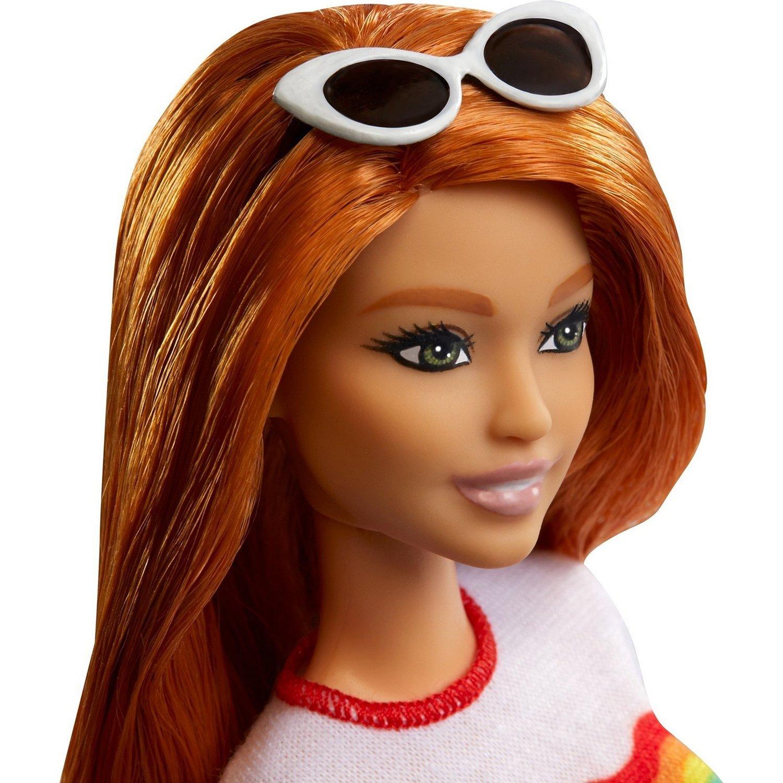 Кукла Barbie Игра с модой Радужный восторг FXL55