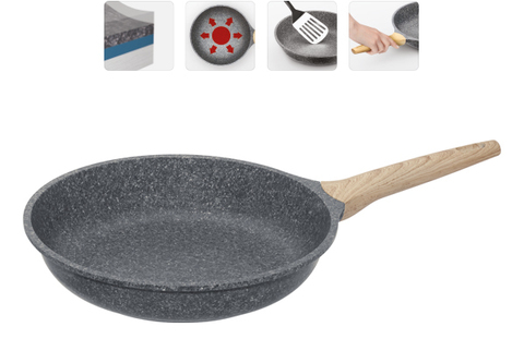 Сковорода с антипригарным покрытием Mineralica, 28 см NADOBA