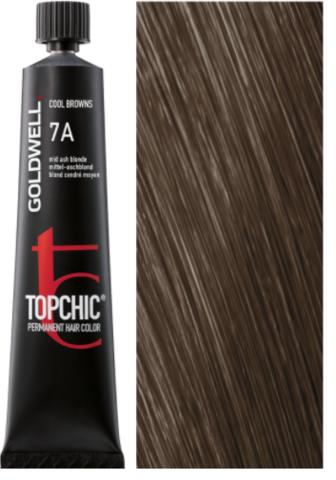 Goldwell Topchic 7A пепельно-русый TC 60ml