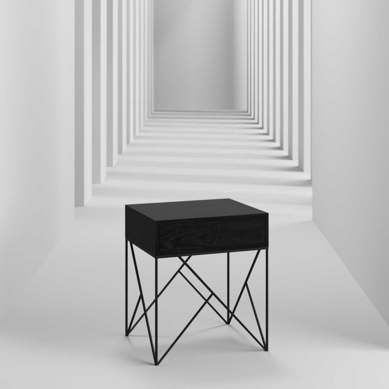 Прикроватная тумба Prince box black - вид 7