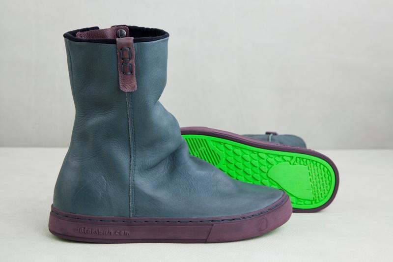 Сапоги женские кожаные Satorisan Nootka Bottle Green (132045)