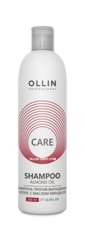 OLLIN care шампунь против выпадения волос с маслом миндаля 250мл/ almond oil shampoo