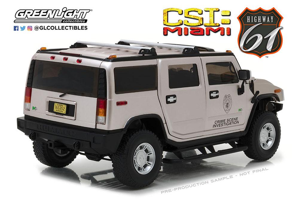 Коллекционная модель HUMMER H2 2003