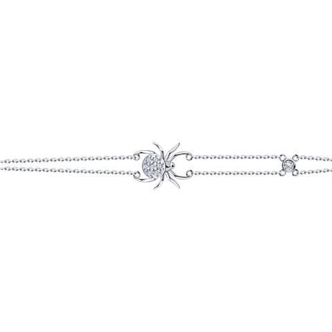 94050572 - Браслет из серебра с подвеской