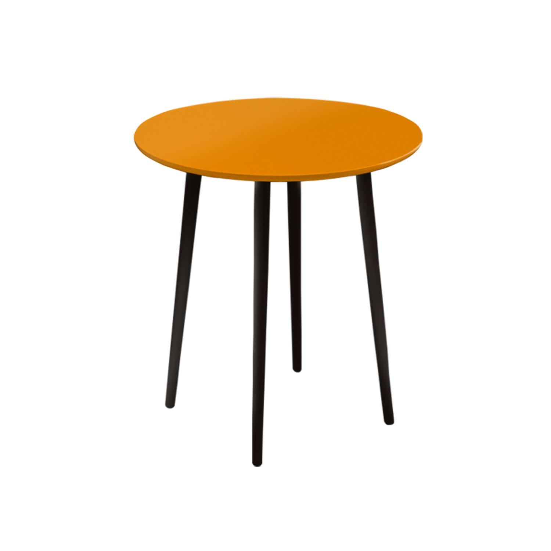 Маленький обеденный стол Спутник 70 см - вид 10