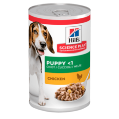 Консервы для щенков Hill`s Science Plan Puppy Savoury, с курицей