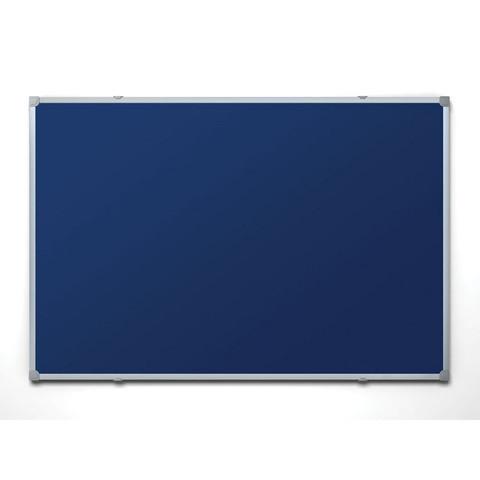 Доска текстильная Attache 60х90 см цвет покрытия синий алюминиевая рама