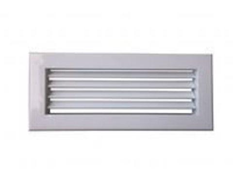 Решетка однорядная алюминиевая RAG1000х200