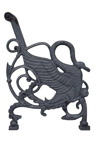 Комплект чугунных опор для скамейки «Лебедь»