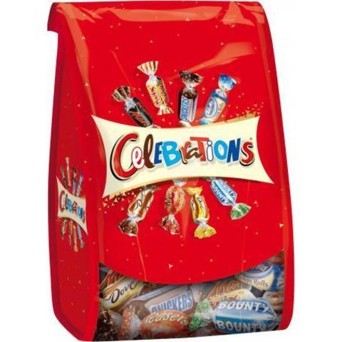 Подарочный набор конфет Celebrations 365 гр