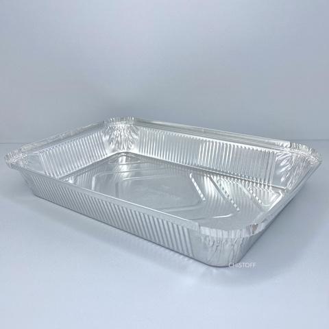 Контейнер прямоугольный из пищевой алюминиевой фольги SP86L