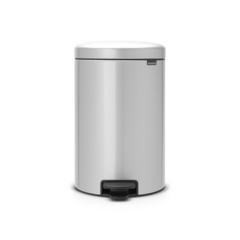 Мусорный бак newicon (20 л), Серый металлик