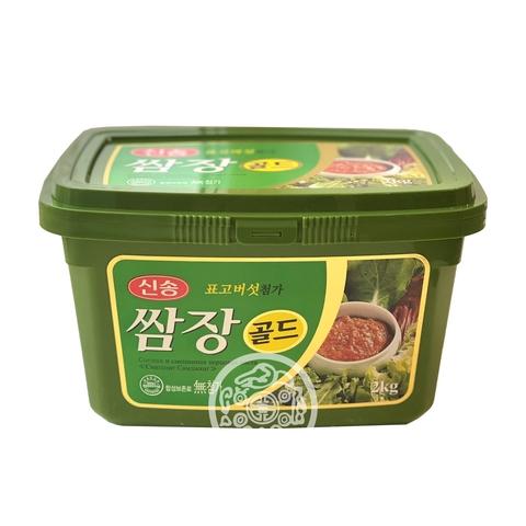 Соевая и смешанная перцовая паста Синсонг Самджянг 2кг Корея