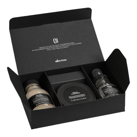 Davines OI Мини набор для абсолютной красоты волос (Oil)