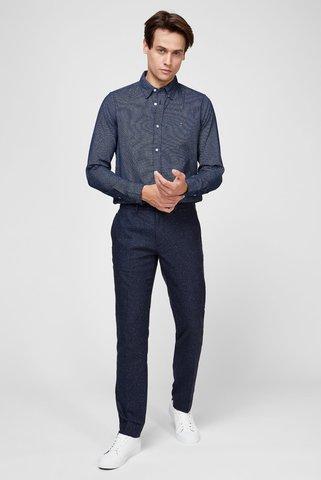 Мужские синие шерстяные брюки DENTON DONEGAL Tommy Hilfiger