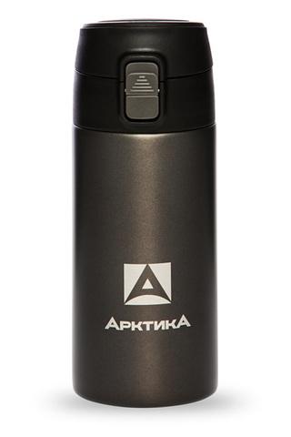 Термос (сититерм-вакуумный) Арктика (0,35 литра),черный