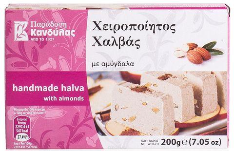 Халва бруском с миндалем Kandylas 200 гр