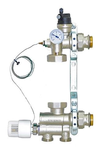 Насосно-смесительный узел Uni-Fitt Solomix 1