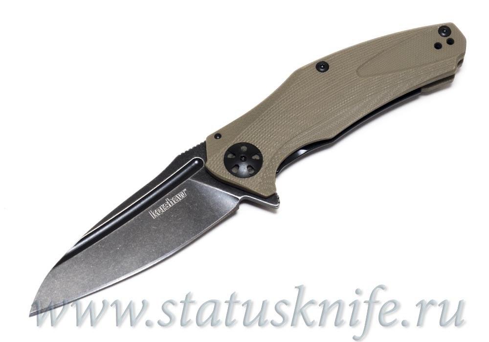 Нож Kershaw 7007TANBW Natrix - Tan G-10 - Blackwash