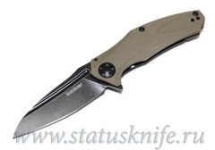 Нож Kershaw 7007TANBW Natrix - Tan G-10 - Blackwash