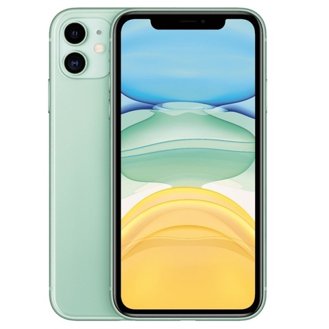 Смартфон Apple iPhone 11 128GB Green (зеленый) EAC (MHDN3RU/A)