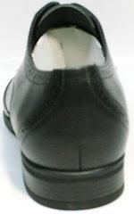 Дерби туфли мужские Ikos 1157-1 Classic Black.