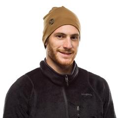Теплая шерстяная шапка Buff Hat Wool Heavyweight Solid Camel - 2