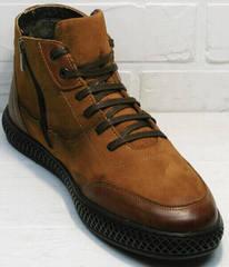 мужские зимние ботинки на молнии