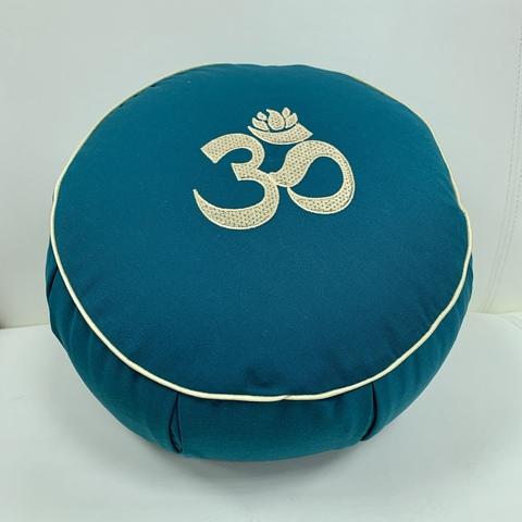 Подушка для йоги Сурья круглая с каймой, 35х15 см