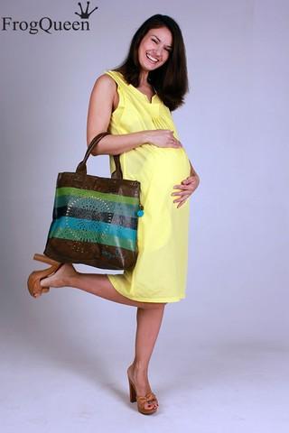 Платье для беременных и кормящих Карамель Янтарь
