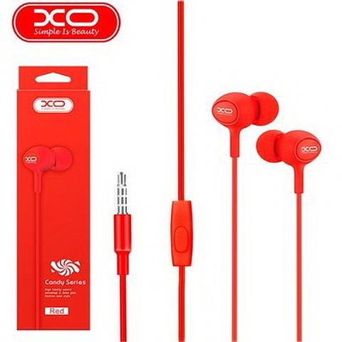 Гарнитура вакуумная XO S6 Candy music (red)