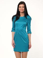 A1881-2 платье женское, бирюзовое