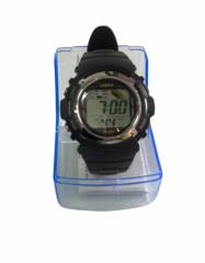 Часы наручные W-F58, с будильником, календарём и секундомером