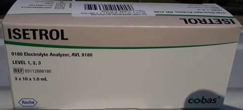 Материал контрольный Изитрол (ISE-трол) 10х1 мл уровень 1, 2, 3 (ISETROL, level 1, 2, 3), 3 уровня по 10 ампул по 1.0 мл 03112888180  /Roche Diagnostics GmbH, Германия/