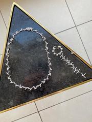 Серебряное колье