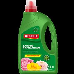 Минеральное удобрение для роз и хризантем Bona Forte канистра 1,5л