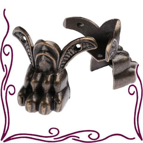 Ножки для шкатулок угловые металлические