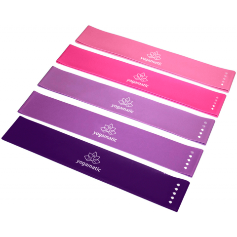 Фит резинки для спорта (премиум) - комплект 5 шт